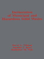Incineration of Municipal and Hazardous Solid Wastes