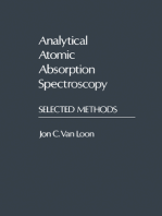 Analytical Atomic Absorption Spectroscopy