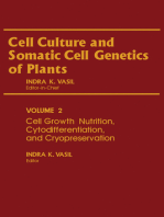 Cell Growth, Nutrition, Cytodifferentiation, and Cryopreservation