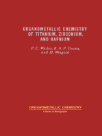 Organometallic Chemistry of Titanium, Zirconium, and Hafnium