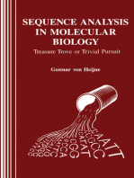 Sequence Analysis in Molecular Biology: Treasure Trove or Trivial Pursuit