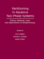 Partitioning In Aqueous Two – Phase System