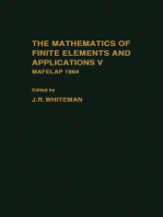 The mathematics of finite elements and Applications V