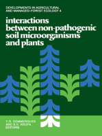 Interactions Between Non-Pathogenic Soil Microorganisms And Plants