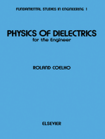 Physics of Dielectrics for the Engineer