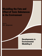 Modeling the Fate and Effect of the Toxic Substances in the Environment