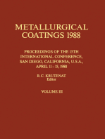 Metallurgical Coatings 1988