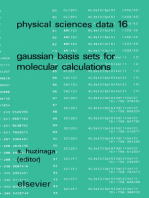 Gaussian Basis Sets for Molecular Calculations