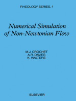 Numerical Simulation of Non-Newtonian Flow