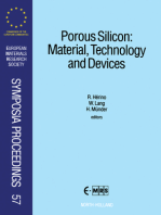 Porous Silicon: Material, Technology and Devices