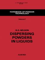 Dispersing Powders in Liquids