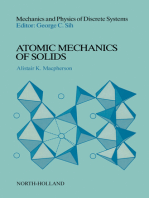 Atomic Mechanics of Solids