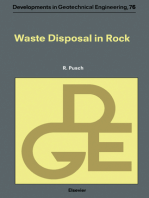 Waste Disposal in Rock