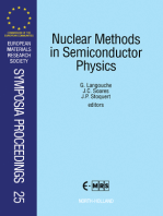 Nuclear Methods in Semiconductor Physics