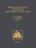 Metallurgical Coatings and Thin Films 1992