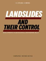 Landslides and Their Control