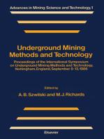 Underground Mining Methods and Technology