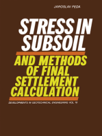 Stress in Subsoil and Methods of Final Settlement Calculation
