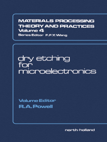 Dry Etching for Microelectronics