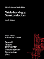 Wide-band-gap Semiconductors
