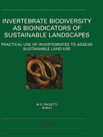 Invertebrate Biodiversity as Bioindicators of Sustainable Landscapes: Practical Use of Invertebrates to Assess Sustainable Land Use