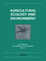 Agricultural Ecology and Environment