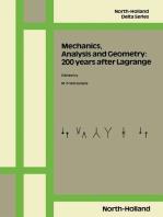 Mechanics, Analysis and Geometry: 200 Years after Lagrange