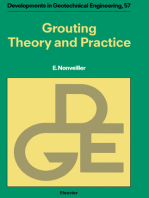 Grouting Theory and Practice