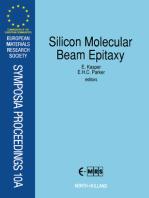 Silicon Molecular Beam Epitaxy