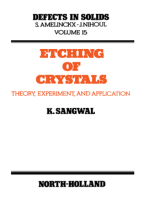 Etching of Crystals