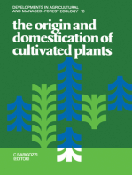 The Origin and Domestication of Cultivated Plants