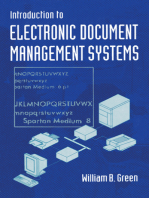 Introduction to Electronic Document Management Systems