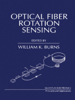 Optical Fiber Rotation Sensing