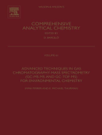 Advanced Techniques in Gas Chromatography-Mass Spectrometry (GC-MS-MS and GC-TOF-MS) for Environmental Chemistry