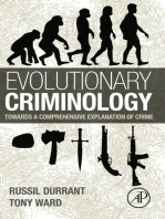 Evolutionary Criminology: Towards a Comprehensive Explanation of Crime