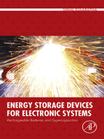 Energy Storage Devices for Electronic Systems