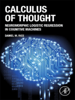 Calculus of Thought: Neuromorphic Logistic Regression in Cognitive Machines