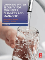 Drinking Water Security for Engineers, Planners, and Managers