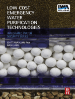 Low Cost Emergency Water Purification Technologies