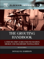 The Grouting Handbook: A Step-by-Step Guide for Foundation Design and Machinery Installation