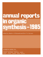 Annual Reports in Organic Synthesis — 1985