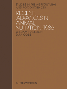 Recent Advances in Animal Nutrition
