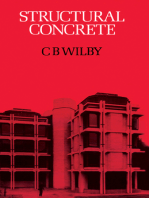 Structural Concrete: Materials; Mix Design; Plain, Reinforced and Prestressed Concrete; Design Tables