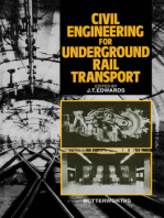 Civil Engineering for Underground Rail Transport