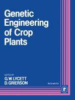 Genetic Engineering of Crop Plants