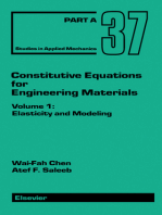 Constitutive Equations for Engineering Materials