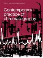 Contemporary Practice of Chromatography