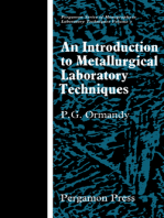 An Introduction to Metallurgical Laboratory Techniques