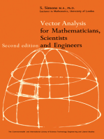 Vector Analysis for Mathematicians, Scientists and Engineers: The Commonwealth and International Library: Physics Division