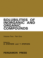 Ternary Systems: Solubilities of Inorganic and Organic Compounds
